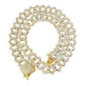 "Miami Cuban Link Chain Necklace 20"" brand new"